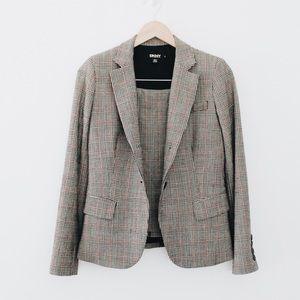 DKNY Wool Skirt Suit Set